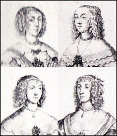 Jacobean & Stuart Women's Hairstyles and Headdresses ~ English Costume by Dion Clayton