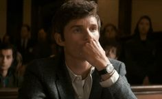 Addicted to Eddie — The Trial of the Chicago 7 on Netflix October 16... Eddie Redmayne Movies, All My Loving, Original Song, Pretty Men, Good Old, Beautiful Boys, Good Movies, Addiction
