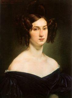 Condesa Luigia Douglas Scotts d'Ada Francesco Hayez. 1830 Coleccion privada. Cortesia de Brian Shappiro