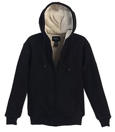 1621046fdf48 Lentta Men s Vintage Relax Fit Thick Fleece Sherpa Lined Denim Jean Jacket  Coat