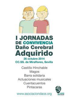 I Jornadas Asociacion Daño Cerebral adquirido Sevilla 26/10/14
