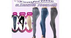 Comfortisse The Best Slimming Jeggings Designer Looking Jeans