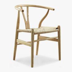 Fine Mod Imports Hans Wegner Wishbone Chair Set Of 6