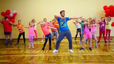 Zumba Kids (easy dance) – I like to move it Zumba Kids (easy dance) – I like to move it,Kita- Kiga Projekt Idee Zumba Kids (easy dance) – I like to move it –. Easy Dance, Zumba Kids, Learning Stations, Kids Moves, Aerobics Workout, Fitness Workouts, Aerobic Fitness, Easy Fitness, Zumba Fitness