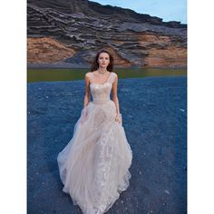 Gala by Galia Lahav 1005 Chapel Train Sweet Tulle Sequins Blush Lace Up Sleeveless One-Shoulder Ball Gown Bridal Gown