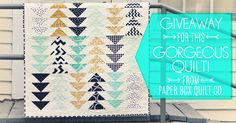 triangles are so hot right now + a quilt giveaway!