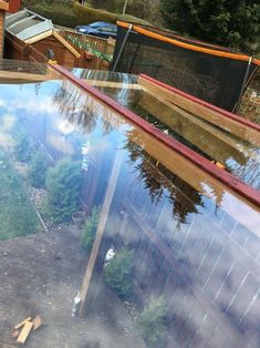 Transparent Roof Pergola on a Budget.: 16 Steps (with Pictures) Attached Pergola, Pergola With Roof, Patio Roof, Roof Architecture, Sustainable Architecture, Contemporary Architecture, Shed Roof, House Roof, Pergola Garden