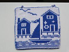 Ravelry: Potholder Sea Side 1 pattern by Regina Schoenfeldt