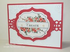 Raspberry Ripple Apothecary Art by basement stamper - Cards and Paper Crafts at Splitcoaststampers
