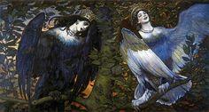 Виктор Васнецов. Сирин и Алконост 1896