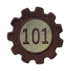 Vault 101 Patch by AffrayPatchworks on Etsy