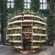 Ikea Lab Releases Free Designs For A Garden Sphere That Feeds A Neighborhood | HuffPost
