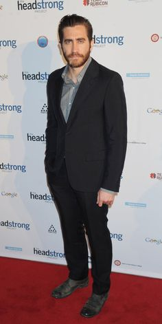 Jake Gyllenhaal attends the Headstrong Project's first ever 'Words of War' event at the #IAC Building in New York City on May 8, 2013   http://celebhotspots.com/hotspot/?hotspotid=5736&next=1