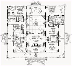 Small Spanish Style Homes Plans Inspirational Spanish Mediterranean House Plans Two Story Ranch Style and Hacienda Style Homes, Spanish Style Homes, Ranch Style Homes, Spanish House, Spanish Revival Home, Spanish Colonial, The Plan, How To Plan, Plan Plan