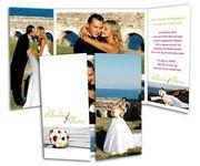 Liebevolle Dankeskarten im Altarfalz Polaroid Film, Pictures, Thanks Card, Card Wedding, Invitations