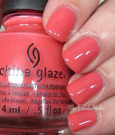 China Glaze Spring 2016 House of Colour Collection - About Layin' Out