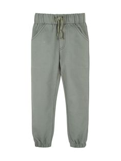 Twill Jogger Pants