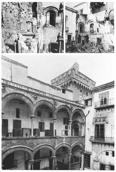 Carlo Scarpa (1906-1978) | Palazzi Abatellis e Steri | Palermo, Sicilia, Italia | 1953-1972