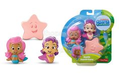 Fisher-Price Nickelodeon Bubble Guppies Molly, Oona, Starfish Bath Squirters | Code: 01677 | To order: http://www.shopaholic.com.ph/#!/Fisher-Price-Nickelodeon-Bubble-Guppies-Molly-Oona-Starfish-Bath-Squirters/p/48679473/category=6708179 | Start your bath time adventures with Mooly, Oona and a starfish from Bubble Guppies. Fill with water and give their body a squeeze to squirt water from their mouths!  It's fun in the tub with your favorite Bubble Guppies.