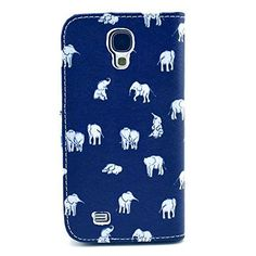 Buy Galaxy S4 Case, M-Zebra Printed Series Light Color Design PU Leather Stand Wallet Type Magnet Design Flip Case Cover For Samsung Galaxy S4 i9500, with Screen Protectors+Stylus+Cleaning Cloth (Baby Elephant) NEW for 4 USD | Reusell