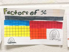 Activities for Teaching Factors and Multiples