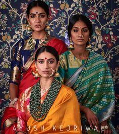 Benarsi Sarees by Ayush Kejriwal Benarsi Saree, Anarkali, Khadi Saree, Sabyasachi, Lehenga Choli, Indian Attire, Indian Wear, Indian Dresses, Indian Outfits