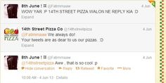 Our fans get delighted when we reply to their tweets & we love it absolutely! :D