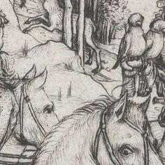 Vertrek voor de jacht, Meester van het Amsterdamse Kabinet, 1485 - 1490 - Search - Rijksmuseum