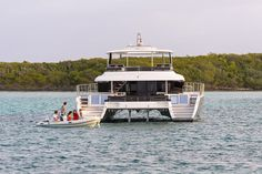 Lagoon's 630 MY handled rough seas like a champion and more than impressed with comfort.