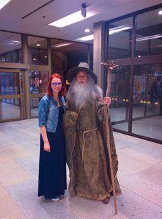 So starkým Gandalfom ❤️