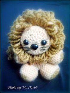 Free Amigurumi pattern: The Little Lion