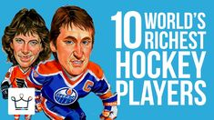 Top 10 #Richest Hockey Players Of All Time https://www.youtube.com/watch?v=GoF9bNgyD3M