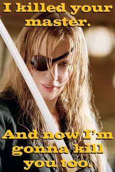 Top 30 Tarantino Characters - Elle Driver aka Californian Mountain Snake ('Kill Bill: Vol II') Kill Bill, Great Films, Good Movies, Quentin Tarantino Films, Pier Paolo Pasolini, Daryl Hannah, California Mountains, Por Tv, Badass Women