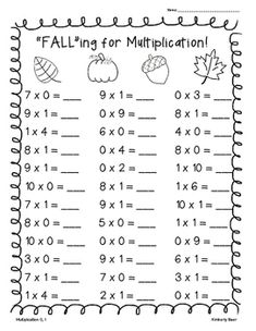 math worksheet : snowman multiplication worksheet pack! 3 sheets  2x1 2x2 3x2  : Multiplication Worksheets 0 1 2