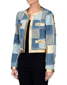 Discover the Moschino Women, Men and Kids Collections. Sewing Jeans, Sewing Clothes, Blazers For Women, Jackets For Women, Jeans Recycling, Denim Fashion, Womens Fashion, Fashion Sewing, Trash To Couture
