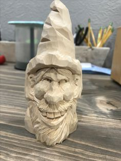 Basswood carved Hillbilly