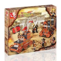 Have a great time with the family with the Warriors building game (232 pieces)! The little ones will love assembling it and making up their own stories.