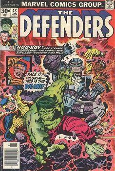 Defenders # 43 by Jack Kirby & Al Milgrom