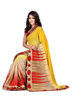 #Ready To Ship #PartyWear Saree !!  #Free #Shipping !! Free #COD !!  Click here to #shop : http://bit.ly/1sU3aof #WhatsApp Us To Buy On : 093775 77785
