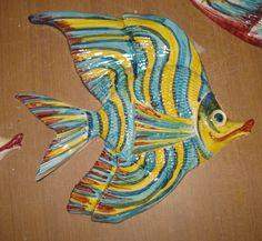 Pesce da appendere in Ceramica