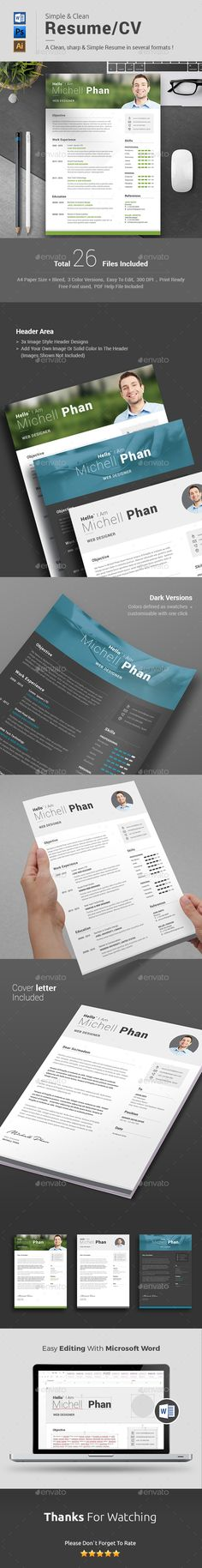 Battery - Creative Resume Template Creative, Creative resume and - microsoft word resumes templates