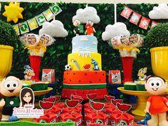 Festa da Turma da Mônica - Dani Festas Personalizadas