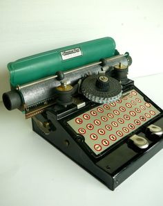 typewriters  - a necessity of childhood