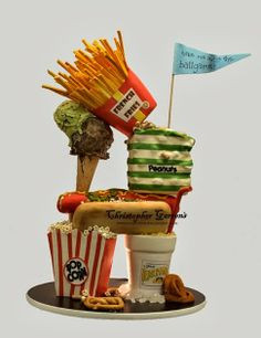 Unbelievable cake. #food #cake #junkFood #cleverCakes