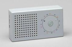 Pocket Radio (model T3)  Dieter Rams (German, born 1932) and Ulm Hochschule für Gestaltung (German, established 1953)      Gutes Design macht ein Produkt verständlich.  Good design helps to understand a product.