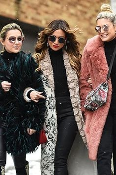 5 Winter Looks We're Stealing from the Streets of NYFW  via @PureWow