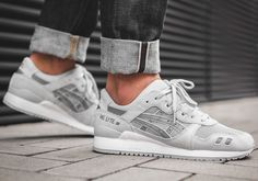 ASICS Gel Lyte III Glacier Grey  #asics #gym #fashion #style