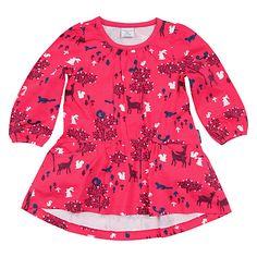 Buy Polarn O. Pyret Children's Woodland Day Dress, Pink/Multi Online at johnlewis.com