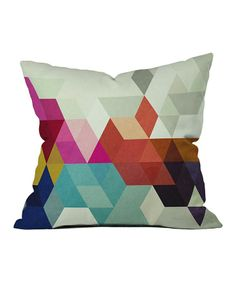 cuscino geometrico #pillow #geometry #colours #white #interiordesign