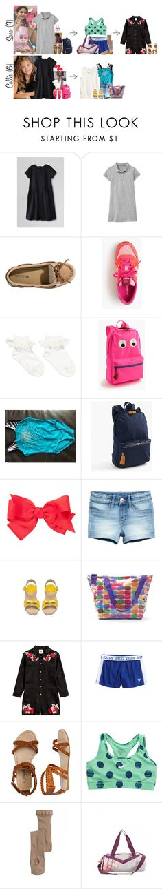 """""""Tuesday // School, Activities & Harrison's Birthday Dinner // 4/18/17"""" by graywolf145 ❤ liked on Polyvore featuring Lands' End, Gap, Sperry, J.Crew, H&M, Bonpoint, Iscream, NIKE, Bloch and GrayWolfFamily"""